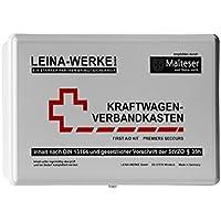 Leina Werke 10008 KFZ-Verbandkasten Standard, Weiß/Schwarz/Rot preisvergleich bei billige-tabletten.eu