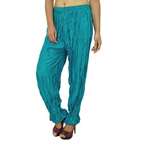 Pantalons pour femmes Yoga Harem Aladdin Pantalon Casual Alibaba Harem Teal vert