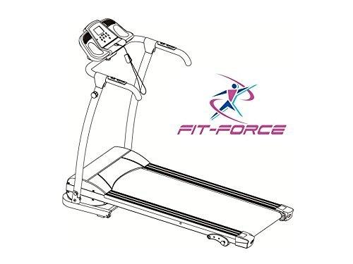 Fit-Force Cinta de Correr 1500W