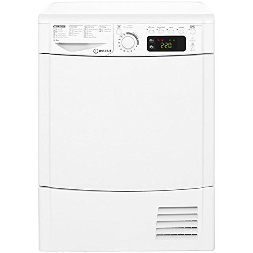 Indesit EDCE85BTM 8kg White Condenser Sensor Tumble Dryer