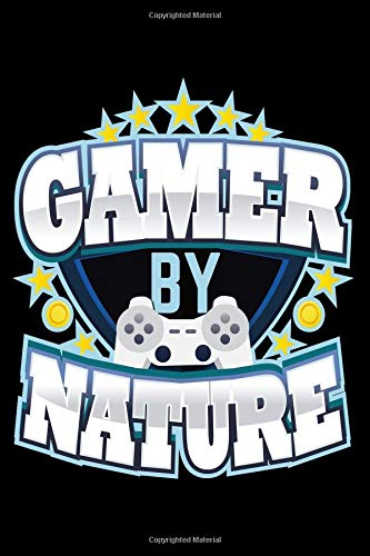 Gamer By Nature: Vintage Video Gamer Composition Notebook for Journaling and Daily Writing (Creative Retro Console Gamers Writer Journals) por Stuart Simon Clarke