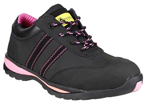 Amblers Safety Femmes FS47 Baskets De Sécurité À Lacets en Cuir Chaussures
