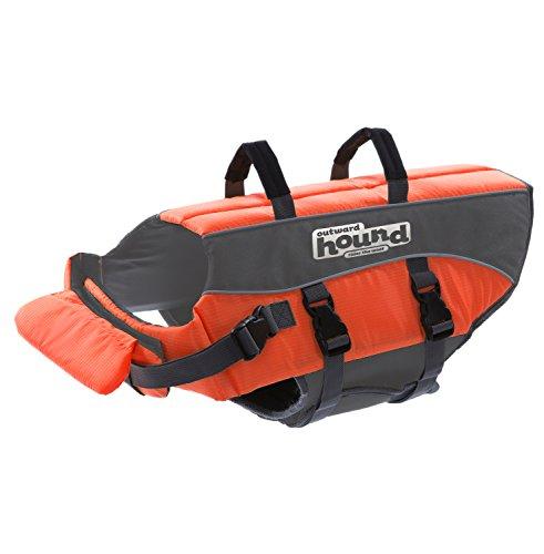 Verso l'esterno Giacca Hound Kyjen 22020 Ripstop Cane Vita Quick Release Easy-Fit regolabile Dog conservatore di vita, Media, Arancione