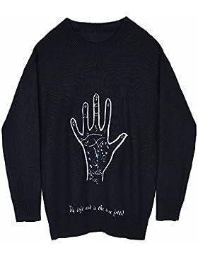 La Sra. otoño cabeza suelta kit suéter de alta calidad