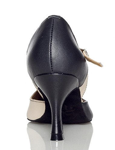 TDA - Ballroom donna 7.5cm Black