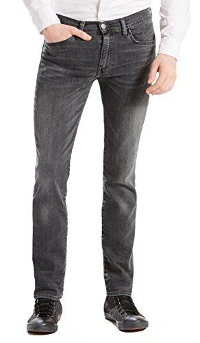 Levi's Herren 512 Slim Taper Fit Jeans, Grau, 34W x 32L