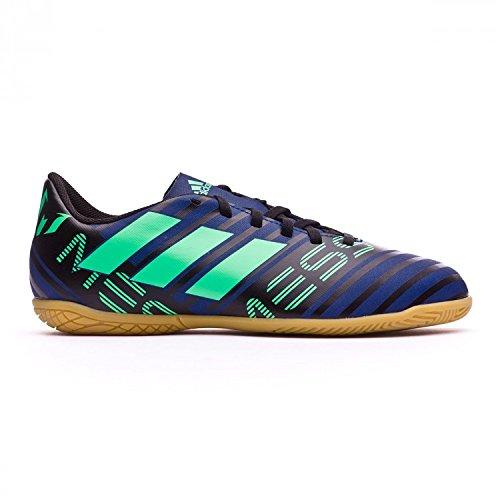 Adidas Nemeziz Messi Tango 17.4 In J, Zapatillas de Fútbol Sala Unisex Niño, Multicolor (Tinuni/Vealre/Negbas 000), 32 EU