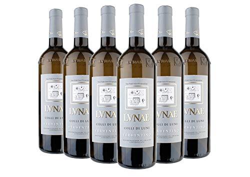 Colli di Luni DOC Vermentino Etichetta Grigia box da 6 bottiglie Lunae 2018 0,75 L