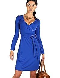 Damen Träger Gepunktet Riemchen Unterhemd 50er Vintage Swing Kleid Übergröße