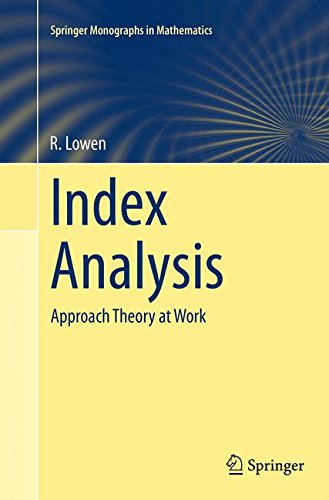 Index Analysis: Approach Theory at Work (Springer Monographs in Mathematics)