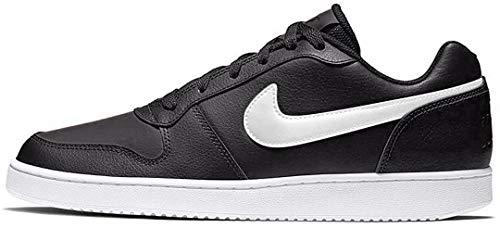 Nike Herren Ebernon Low Fitnessschuhe, Schwarz (Black/White 002) 46 EU