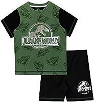 Jurassic World Pijamas de Manga Corta para niños Dinosaurio