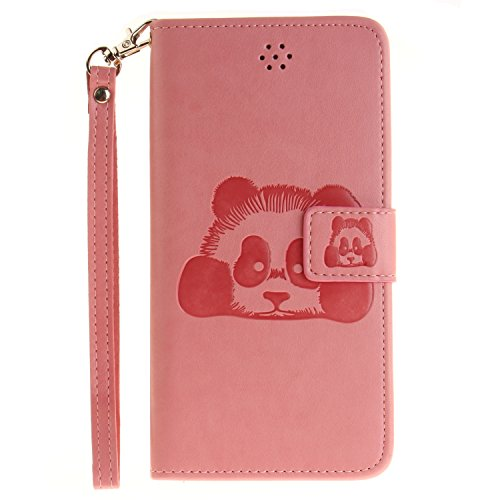 Custodia iPhone 7 Plus Case, SsHhUu Cover Portafoglio in Vera Pelle [Carta Fessura] [Magnetica Chiusura] con Penna Capacitiva e Lanyard per Apple iPhone 7 Plus / iPhone 8 Plus (5.5) Oro Rosa