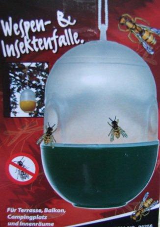 Wespenfalle Insektenfalle Mückenfalle Fliegenfalle (Hundefutter Marmeladen)