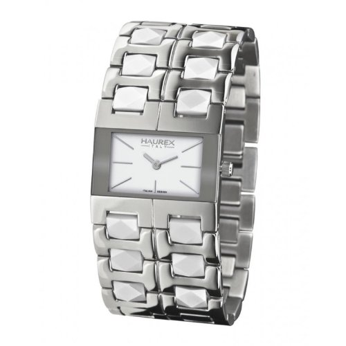 Haurex Italy XA327DW1 Womens Luna White Dial Watch