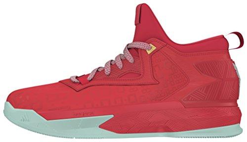 finest selection 52230 08c8c adidas D Lillard 2, Scarpe da Basket Uomo, Rosso (RojrayVerhie