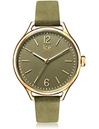 Ice-Watch - ICE time Khaki - Grüne Damenuhr mit Lederarmband - 013069 (Small)