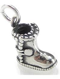 BONA Roca Charm Donna Stivali da equitazione con moschettone in argento, 4715K