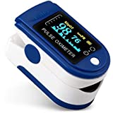 Let's Care Made In India Fingertip Pulse Oximeter With Ultra Bright OLED Display & High Accuracy