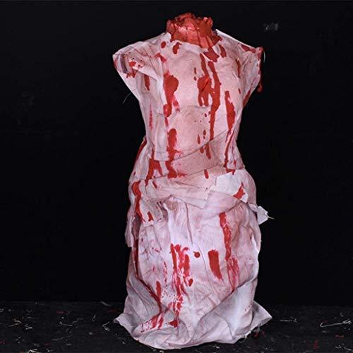CS-LJ Halloween Halloween Bloody Props, Headless Ghost Horror Props Bar Spukhaus Flucht Halloween Horror Dekoration Hang Ghost - Flucht Baby Kostüm
