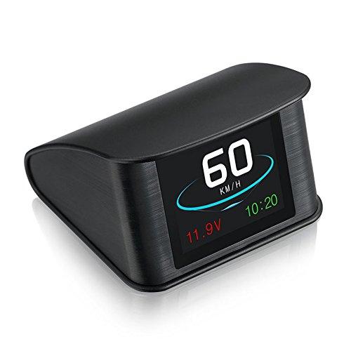 Jasnyfall Smart On-Board-Fahrcomputer OBD Digital Speed Voltmeter Auto HUD