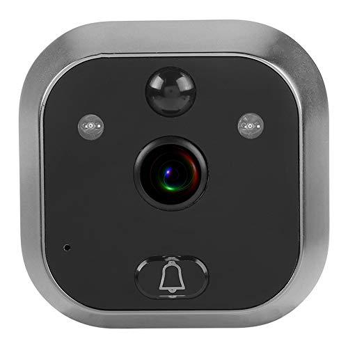 5 Pouces OLED Judas Vidéo HD 720P Wifi 160° Grand Angle Système Audio Bidirectionnel en Temps Réel avec IR Vision Nocturne et Derection de Mouvement Grande Capacité Batterie pour Sécurité Domicile