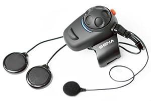 Sena SMH5-02 Bluetooth-Headset und Gegensprechanlage für Roller und Motorräder Set für Vollvisier-Helme