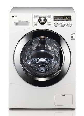 LG F 1447 TD01 Frontlader Waschmaschine (A+++, 8 kg, 1400 UpM, Startzeitvorwahl, Beladungserkennung) weiß