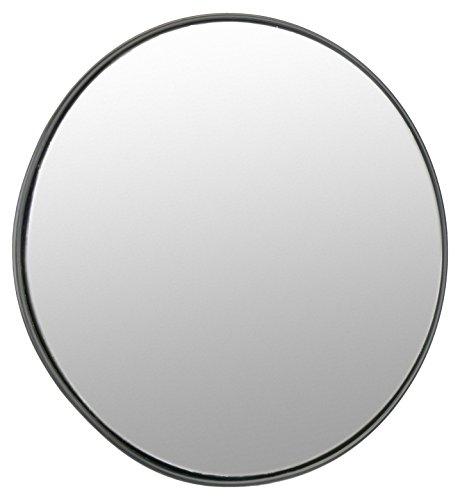 Cablematic sq92-Specchio convesso di segnalazione sicurezza sorveglianza 45cm interni, colore: nero