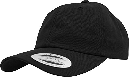 252f644ed90 Yupoong Flexfit Low Profile Cotton Twill Unisex Dad Hat Cap für Damen und  Herren