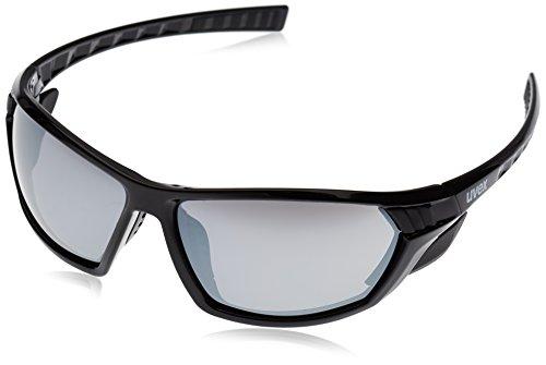 Uvex Erwachsene Sportstyle 307 Sportsonnenbrille, black, One size