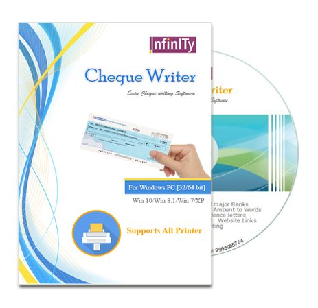 Infinity Cheque Writer – Cheque Writing/Printing Software