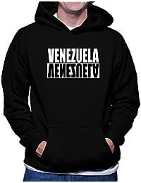 Teeburon Venezuela Negative Sudadera con capucha