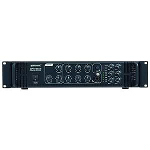 Omnitronic 061041 MPVZ-350.6 PA Amplificateur mélangeur Noir