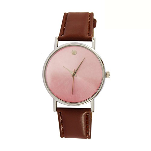 Style Feathers Analog Brown Dial Women's Watch - SD Brown