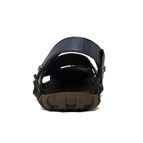 Azul Zuecos Los Eagsouni Zapatos De Sandalias Para Mulas Playa Marino Hombre De Y Hombres Y qpPdOA
