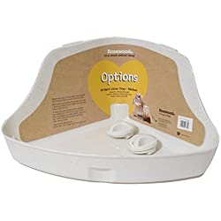 (Bordeom Breaker) Options Small Animal Hi-Back Litter Pan Medium