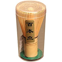 ulable Chasen Bambus Matcha Tee Schneebesen Japanische Teezeremonie Zubehör 75–80Zinken