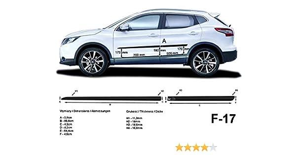 Spangenberg 370004104 Baguettes de Protection lat/érales pour Hyundai Kona SUV /à partir de 06.2017-F41 Noir