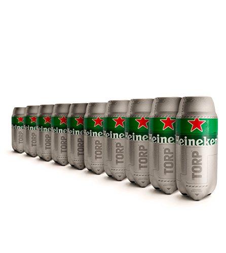 Heineken Torp-Pack di 10-Botte di birra di 2L capacità compatibile con thesub