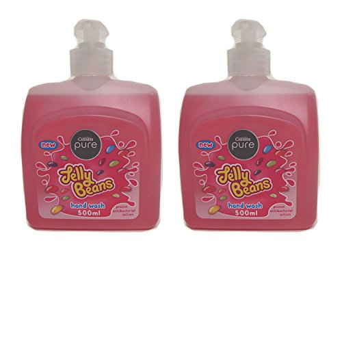 Cussons Pure Jelly Bean Hand Wash (500 ml) with proven anti-bacterial action (Pack of 2)