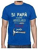Green Turtle Camiseta para Hombre - Si Papá no Puede Nadie Puede - para...