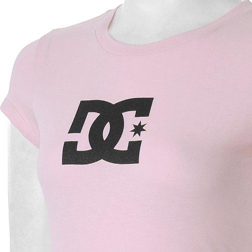 DC Star T-shirt pour femme femme SS Women's S/S Fine Jersey, bajabl/WHT Violet - LILAC/BLACK