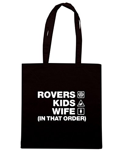 T-Shirtshock - Borsa Shopping WC1127 bristol-rovers-kids-wife-order-tshirt design Nero