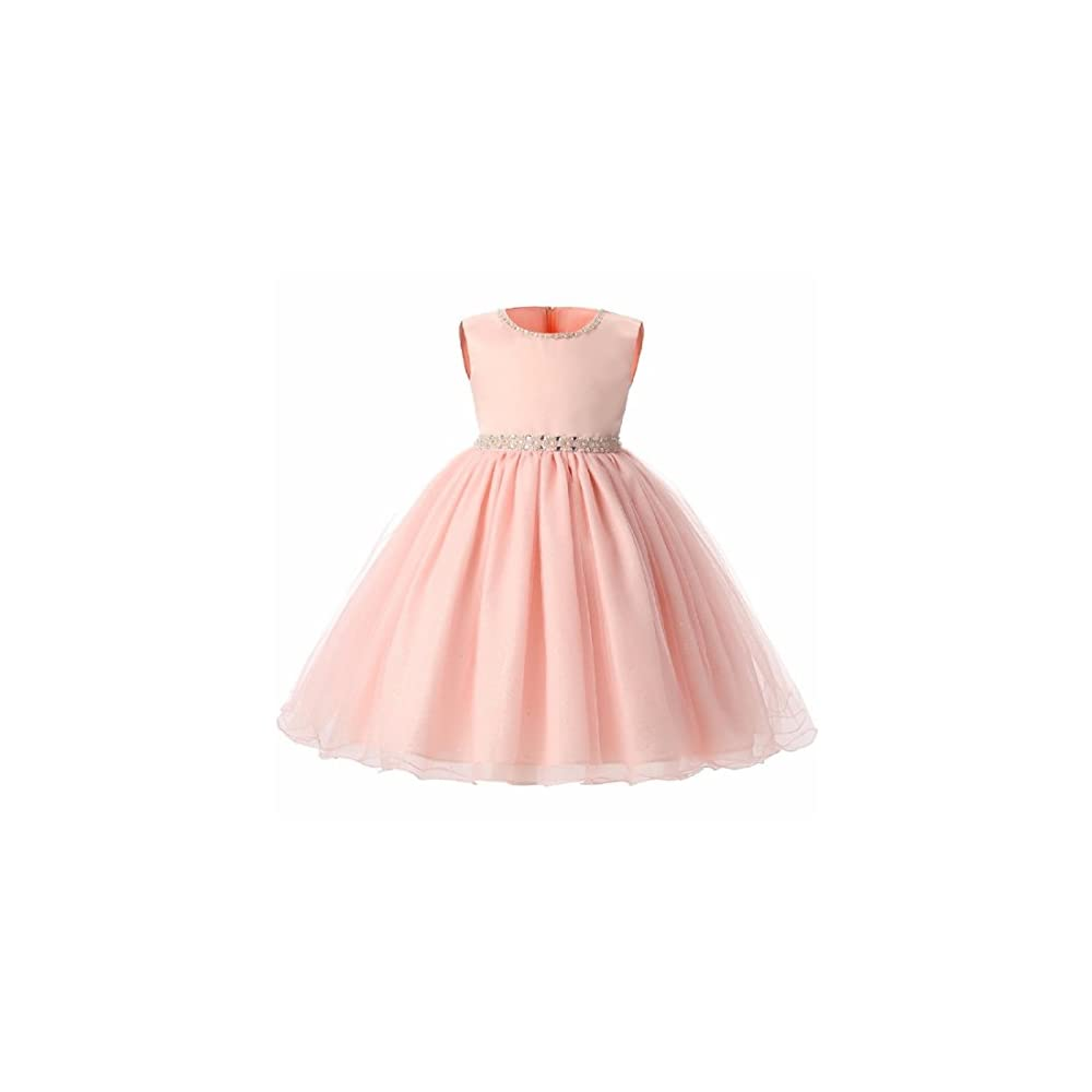 3ff74626f6d8 SOFYANA Baby - Girl s Tissue and Net Princess Gown Birthday Party ...