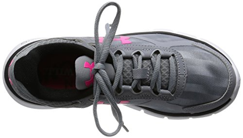 Under Armour Ua W Micro G Velocity Rn Gr, Chaussures de Running Compétition Femme Gris - Grey (Steel)
