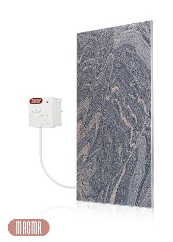 Magma Infrarotheizung 400Watt (Juparana Grey) mit Steckdosenregler