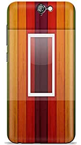 PCM High Quality Printed Designer Polycarbonate Hard Back Cover for HTC Desire A9 - Matte Finish - Color Warranty - 0737