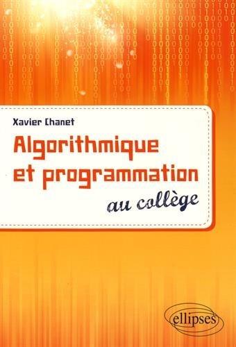 Algorithmique et programmation au collge