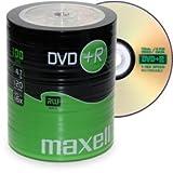 Pack de 100 DVD+R Maxell